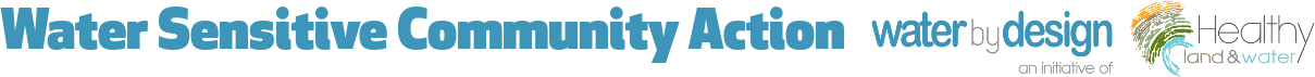 Water Sensitive Community Action Logo